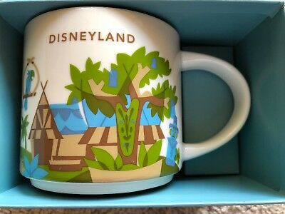 Disney Parks Disneyland Adventureland You Are Here Starbucks Mug YAH New