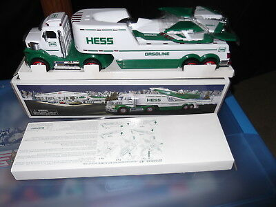 2010 Hess toy truck with Jet airplane new in box