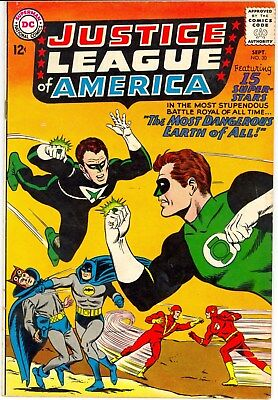 Dc :: Justice League Of America  # 30 1964 :: F (6.0) :: 99 Cent No Reserve