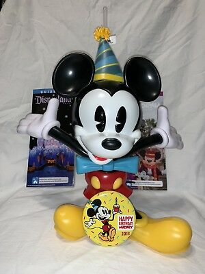 Disneyland Exclusive Mickey's 90th Birthday Souvenir Sipper Cup, Pin & Guide Map