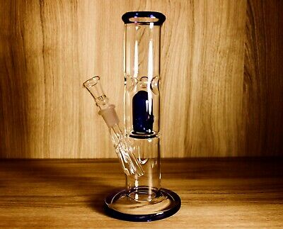 "8"" Glass Water Pipe Bong ICE CATCHER Smoking Pipe Beaker Hookah USA Free Shippin"