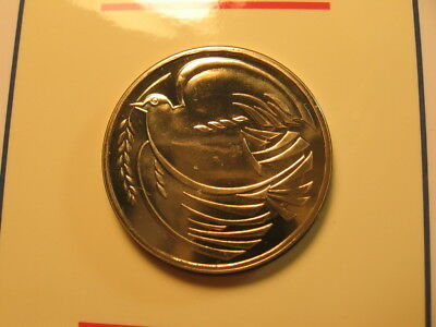 "1 old world coin GREAT BRITAIN 2 pounds 1995 KM970 50th Anniversary WW II ""dove"""