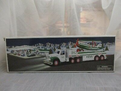 2002 Hess Toy Truck and Airplane In Very Good Condition