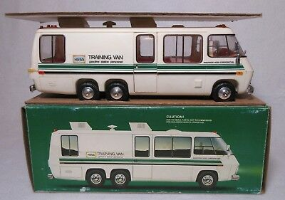 1980 Vintage Hess Truck Training Van Collectible W/ Original Box