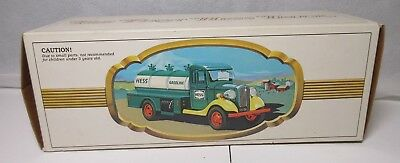 1980 The First Hess Truck Toy Gas Tanker Original Box MIB