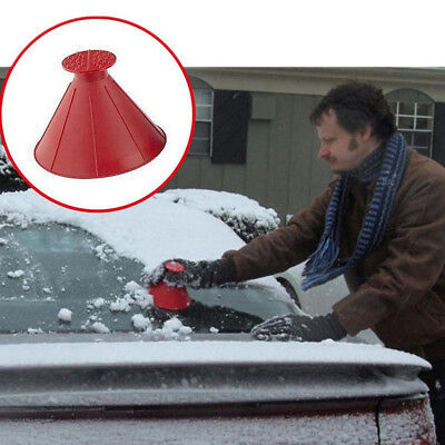 Miracle Scraper Car windshield snow Wiper ice Snow Remover also Becomes a Funnel