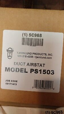 TJERNLUND PS1503 Duct Pressure Switch Automatic Activation of Duct Booster Fans