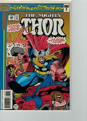 The Mighty Thor 469 Silver Surfer