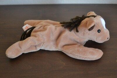 TY Beanie Babies Baby  DERBY the Horse - Birthday September 16, 1995