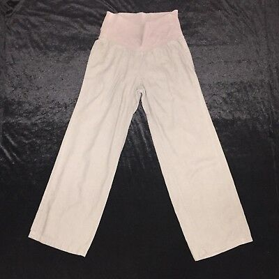 Pre-owned Khaki -color OLD NAVY Maternity -panel MEDIUM Casual Pants
