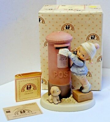 MEMORIES OF YESTERDAY PORCELAIN FIGURINE This Ones For You..... 1988 ENESCO NEW