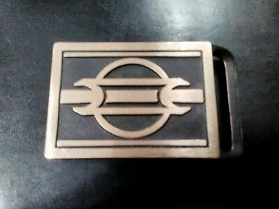 Tech Ether Guild Avatar brass rare vintage belt buckle new old stock