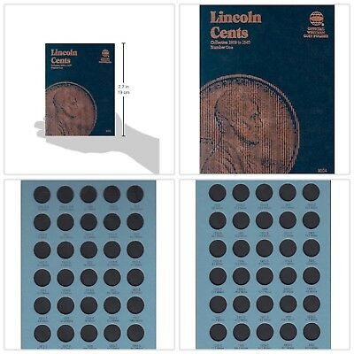 Whitman Lincoln Cents Coin Folder 1909-1940 Vol No 1 Penny Album Book 9004 NEW