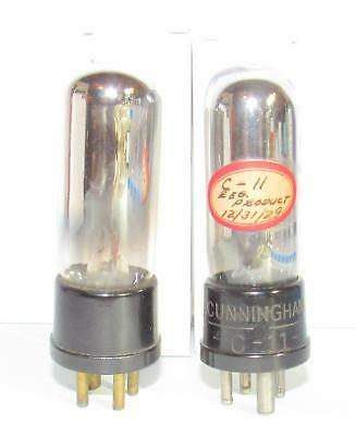 2 RCA made WD-11 amplifier vacuum tubes. TV-7/U test super strong.