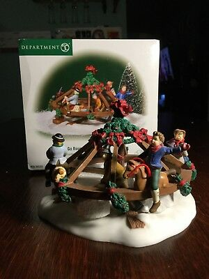 Dept 56 Dickens' Village Merry Go Roundabout 5658533