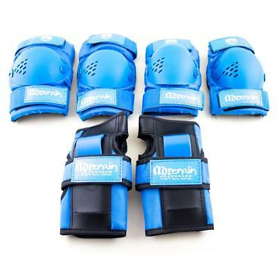 6 Piece Skate Protection Set in Blue from Adrenalin - Child Small