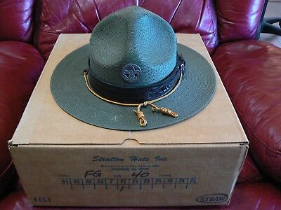 VINTAGE BOY SCOUTS OF AMERICA SCOUT MASTER by Stratton -Straw - 7 1/8