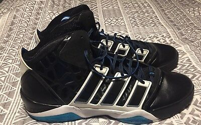 brand new 7e7a3 92305 NBA Dwight Howard Sample Adidas Adipower Black Basketball Shoes Size 20