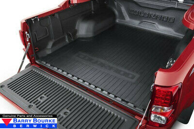 New Genuine Holden Colorado Heavy Duty Rubber Tub Mat for Crew Cab #92262707