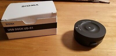 Sigma USB Dock UD-01 for Canon  EF Mount Lenses Firmware Update