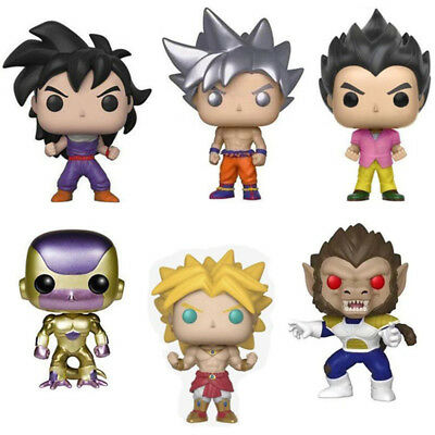 Funko Pop Dragon Ball Z Super Saiyan Broly Great APE Vegeta GOHAN Figure Toys