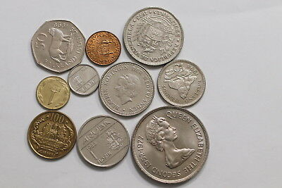 Central & South America Coins Lot A98 Ws44