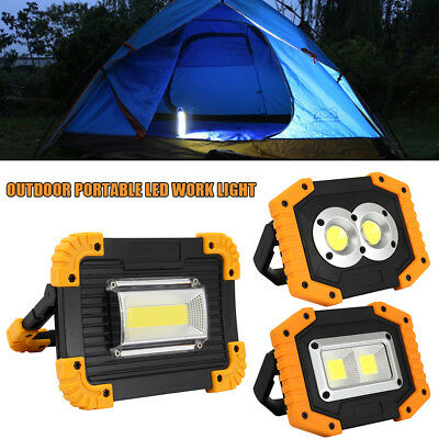 USB Rechargeable LED Work Inspection Light Portable Waterproof Emergency Lamp