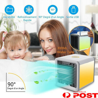 NEW Portable Mini Air Conditioner Cool Cooling For Bedroom Artic Cooler Fan AU