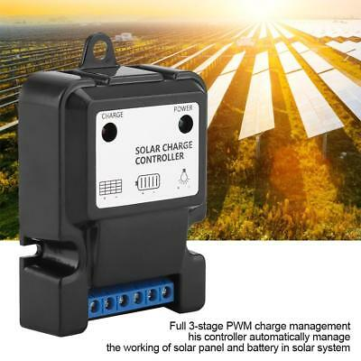 PWM Intelligent Solar Energy Discharge Charge Controller Efficient Regulator SS