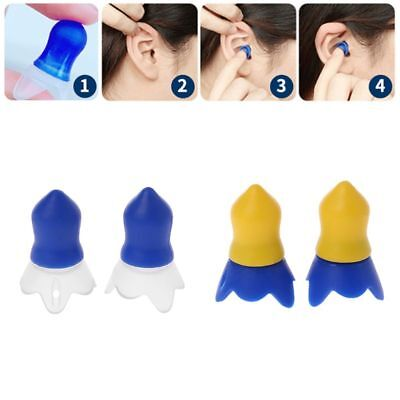 Silicone Flight Earplugs Noise Cancelling Ear Plugs Hearing Protection Reusable