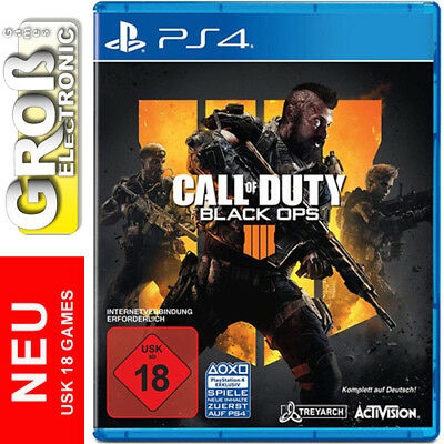 Call of Duty Black Ops 4 COD PS4 Playstation 4 USK 18 Komplett auf DEUTSCH NEU