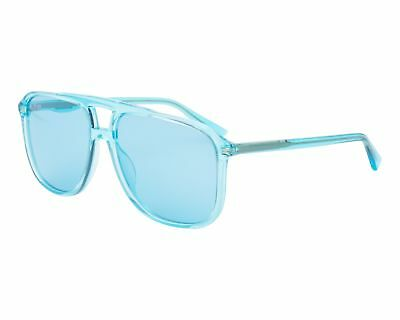 c3390e5b0d NEW GUCCI URBAN GG 0262S Sunglasses 003 Light-blue 100% AUTHENTIC ...