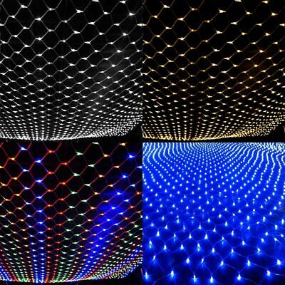 Waterproof 200 LED Net Mesh Fairy String Party Lights Xmas Wedding Party Decor