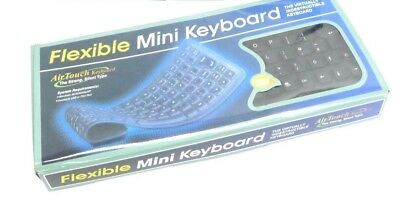 Portable Travel USB Mini Flexible Silicone Keyboards For PC Laptop Notebook