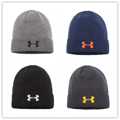 UNDER ARMOUR Men's Women's Winter Warm Cap Cuffed Knit Stretch Beanie Hat