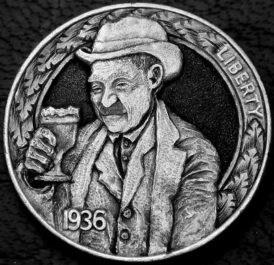 "hobo nickel ""This Drink is on The House"" Howard Thomas"