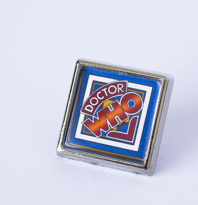 Retro 1970's Style Dr Who Pin/Lapel Badge