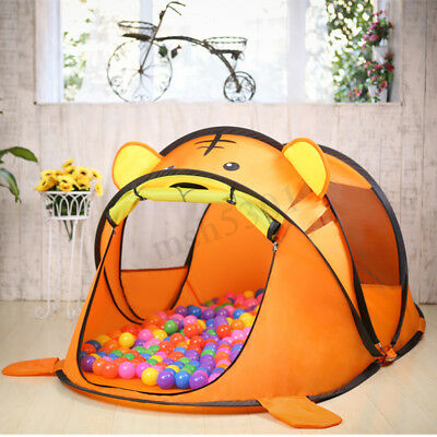 Folding Kids Children Play Tent  Pop Up Indoor Outdoor Play House Ball Toy Game