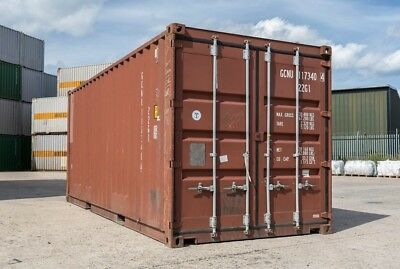 20ft Shipping Container Storgage Unit All Dry No Rot Boxes £1650.00 Plus Vat