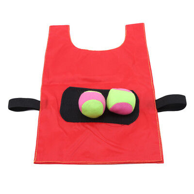 Multi Color Early Educational Vest Sports Pull Balls Games for Children Adult N7