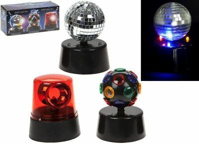 Mini Party Lights Strobe Disco Ball DJ Kids Flashing