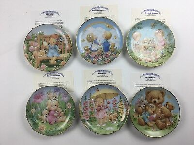 Danbury Mint Collector Plates Blesed Are Ye
