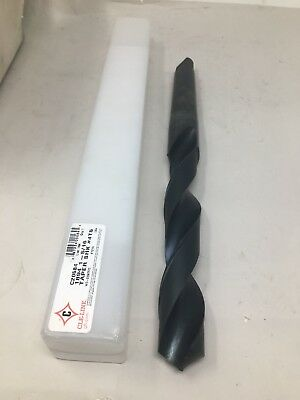"""New Cle-Line 1 5/16"""" Drill Bit Morse Taper 4 Shank MT4 4MT, 5XD Length Usa Made"""