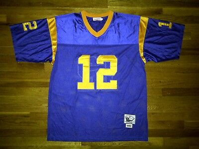 ... discount authentic mitchell ness 1977 los angeles rams blue gold joe  namath jersey 54 10fe5 d4974 e29fdcae5