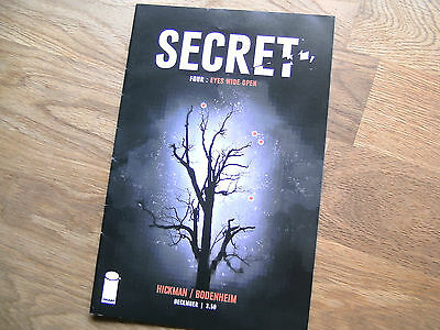 IMAGE Secret graphic comic issue #4 Dec '13 NEW Hickman Bodenheim Eyes Wide Open