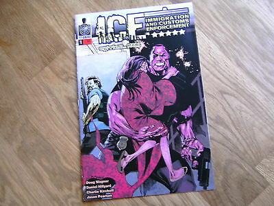 12-Gauge ICE: Critical Mass graphic comic #1 Nov 2014 Wagner NEW Customs Enforce