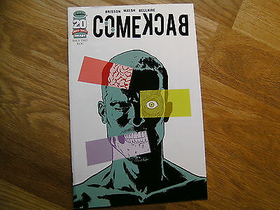 IMAGE Comeback graphic comic issue #2 Dec 2012 NEW! Brisson Walsh Bellaire 20 yr