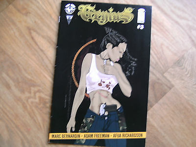 IMAGE Genius graphic comic issue #3 Aug 2014 NEW! Marc Bernardin Freeman Top Cow