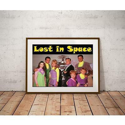 Lost In Space Poster - 1960's Sci-Fi Television show