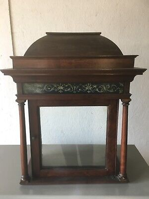 Antique oak Grandfather Clock Hood